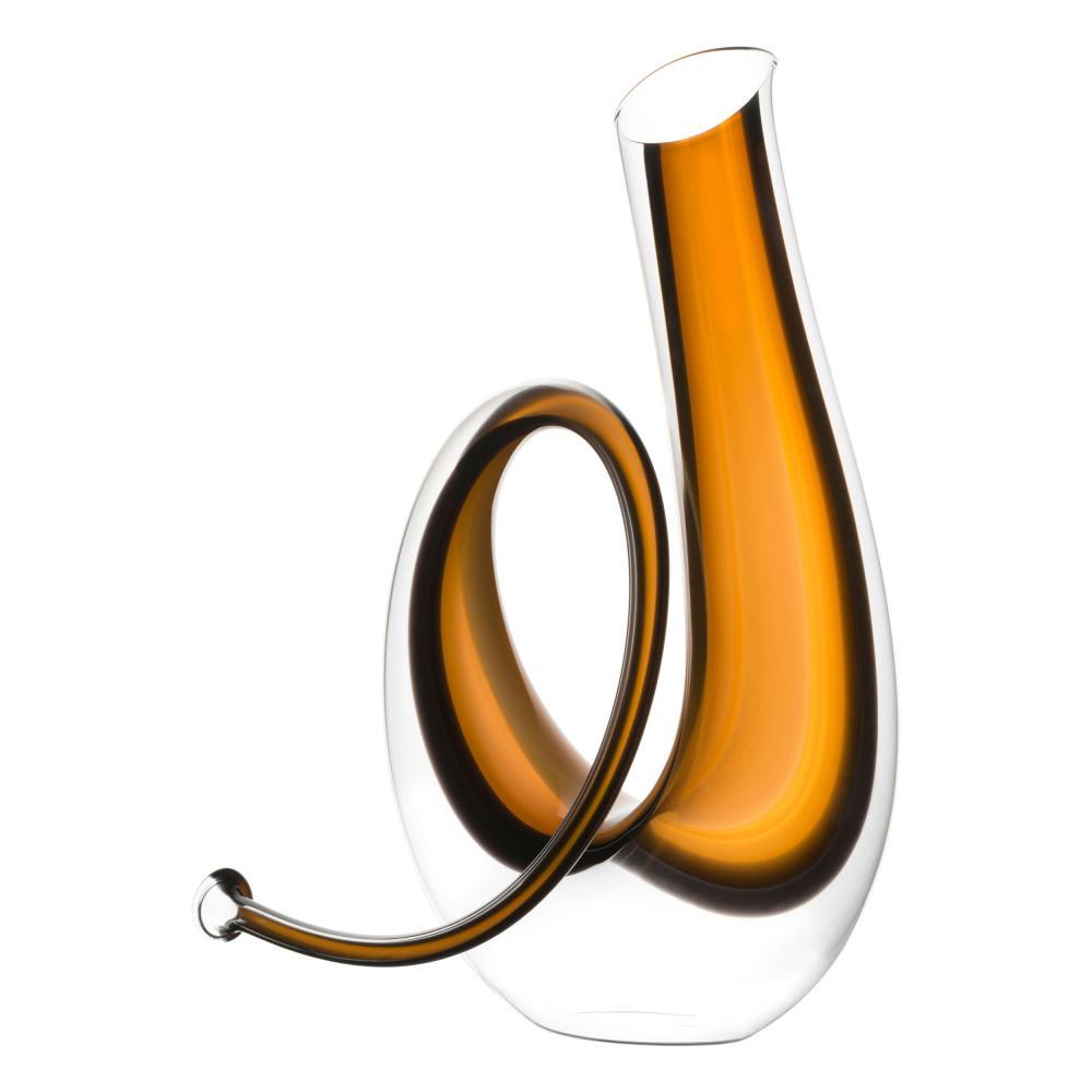 Riedel Dekanter Horn Glasdekanter Dekantierflasche Weinkaraffe Hochwertiges Glas