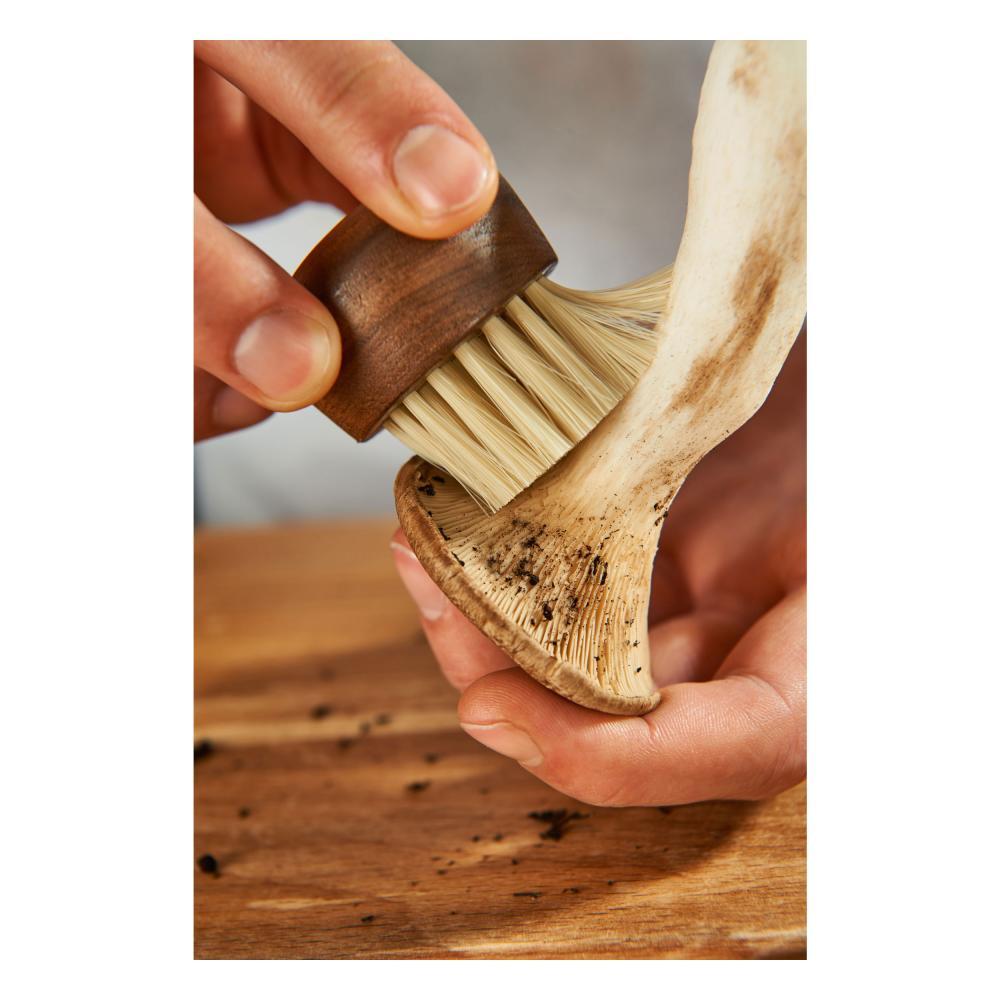 Rösle hongos y hortalizas cepillo champignonbürste cepillo de limpieza cepillo de cocina marrón