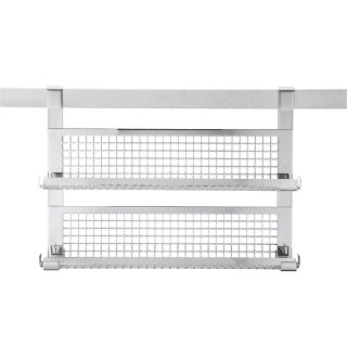 Rosle Spice Rack With Double Shelf 18 10 Stainless Steel Rosle
