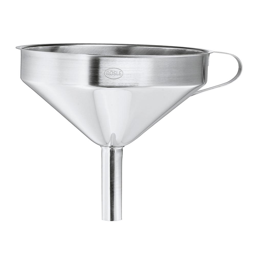 Roesle-Gastro-Trichter-Restetrichter-herausnehmbarer-Siebeinsatz-12cm-24098