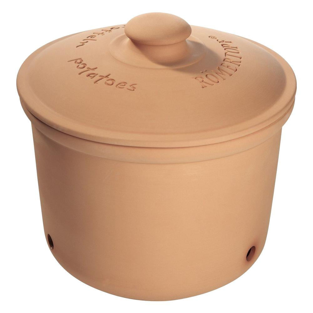 miniatura 3 - Romani Pentola scorta pentola le patate patata Pentola patata magazzino per 3 kg naturton