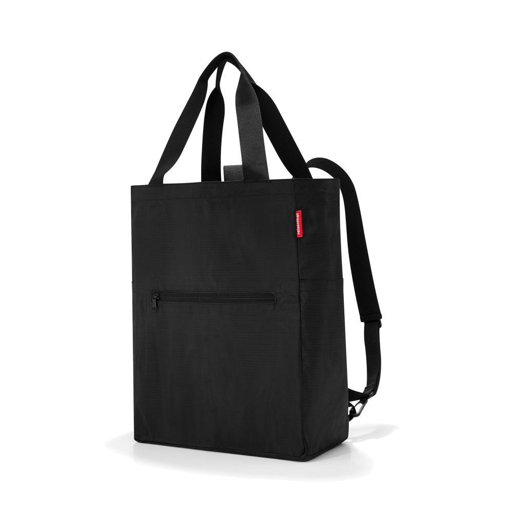 reisenthel mini maxi 2in1 Umhängetasche Einkaufstasche Tragetasche Tasche Black