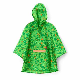 reisenthel Mini Maxi Poncho M Kids, Rain Jacket, Raincoat, Cape, Foldable,  One Size, Greenwood, IG5035 at About-Tea de Shop