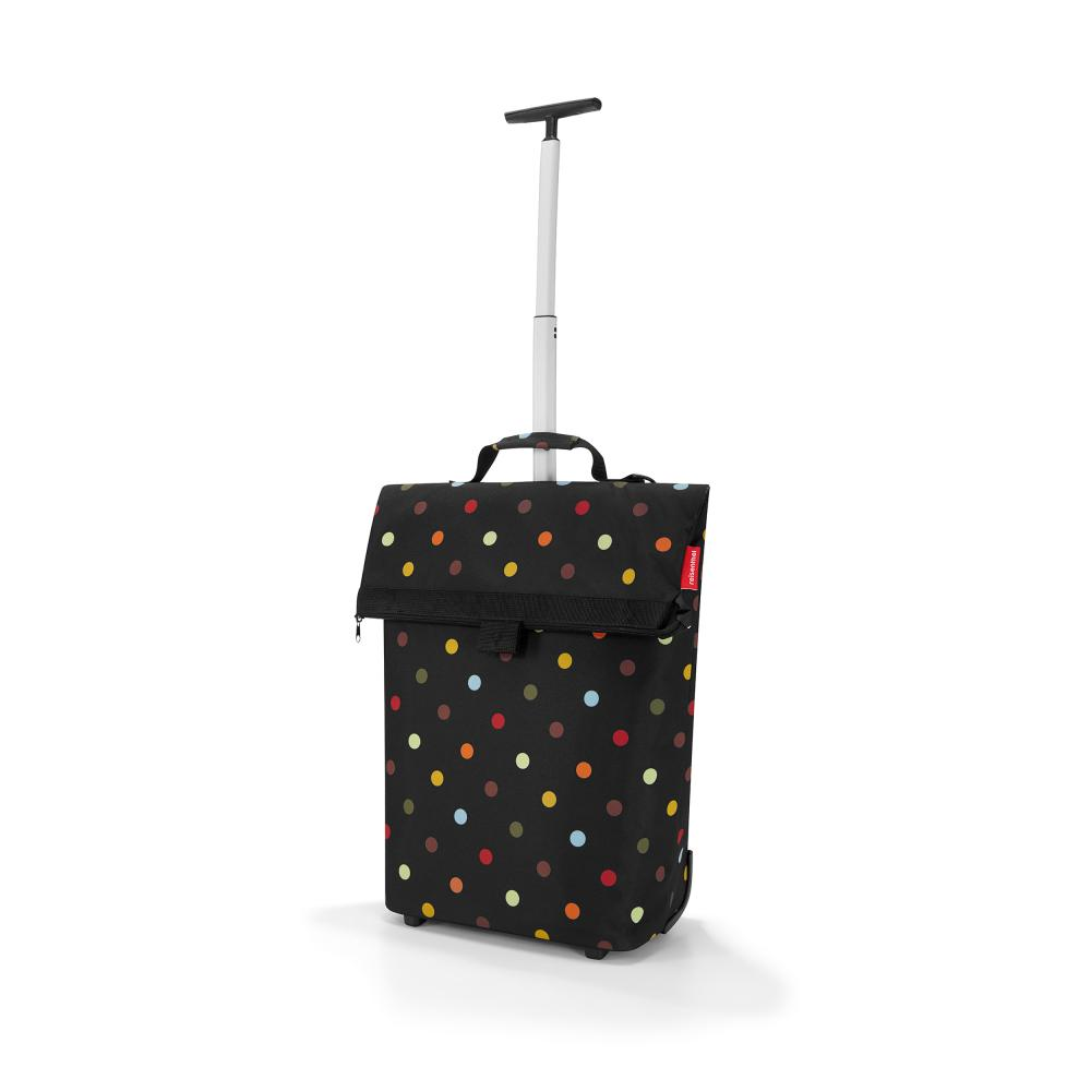 reisenthel Trolley M, Shopping Bag with Wheels, Polyester Fa