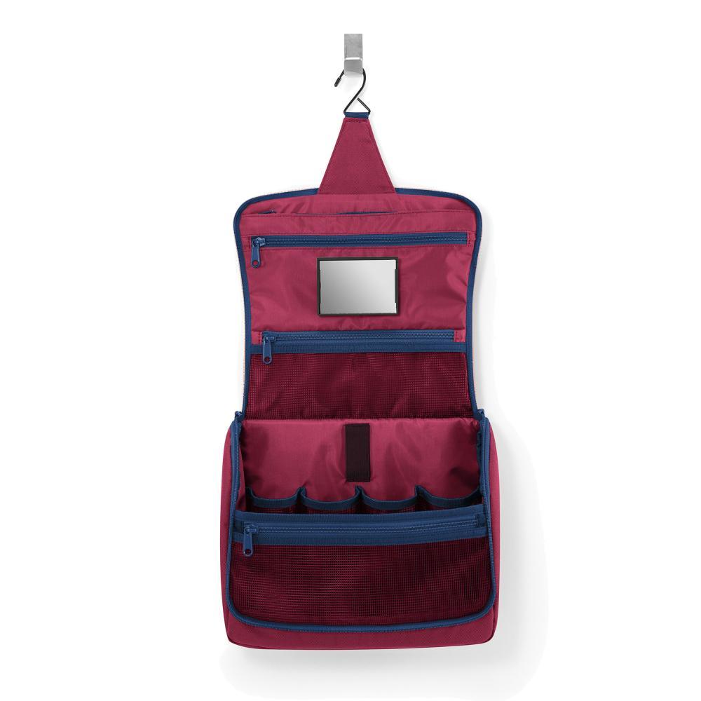 Reisenthel Toiletbag XL Culture Sac Sac Culture sachet sachet Dark ruby 4 L
