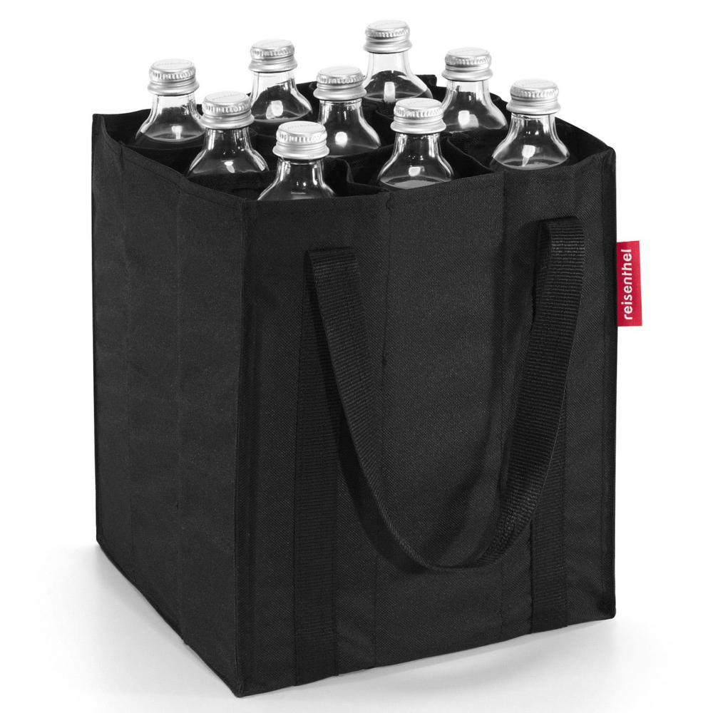 reisenthel bottlebag tasche für 9 flaschen tragetasche black schwarz ZJ7003