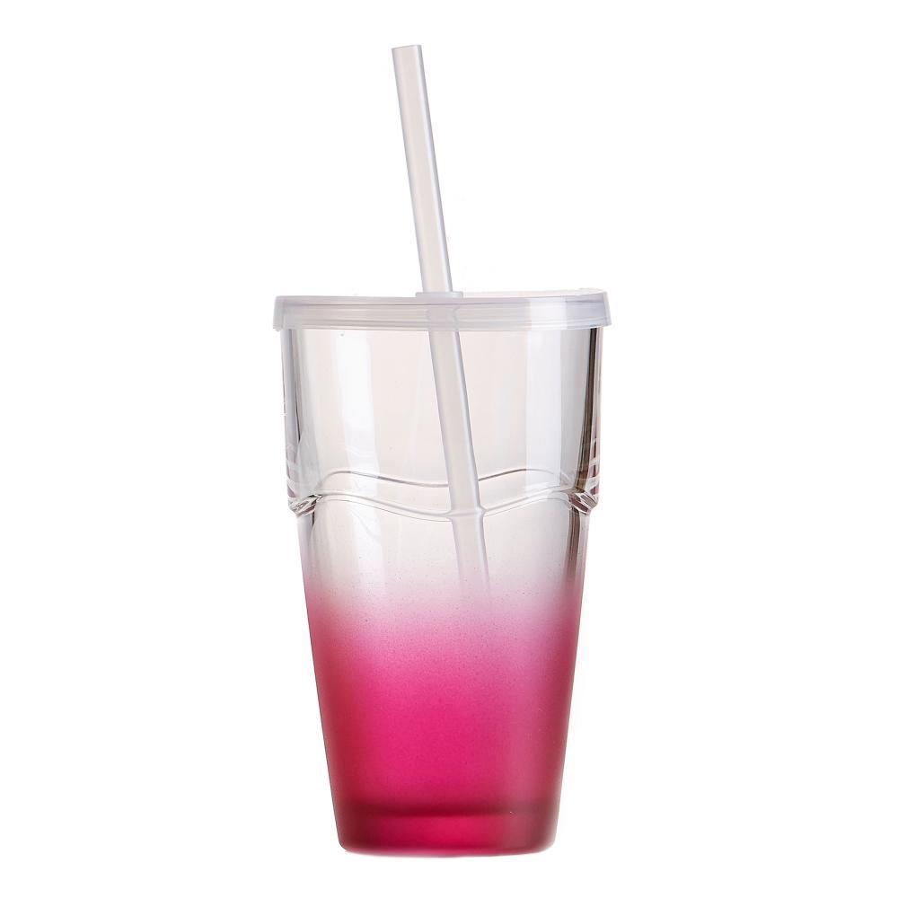 Ritzenhoff /& Breker Cool Summer Longdrinkglas Longdrink Wasser Glas Rot 370 ml