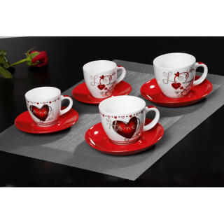 ritzenhoff breker forever love espresso set 2 cups 2. Black Bedroom Furniture Sets. Home Design Ideas