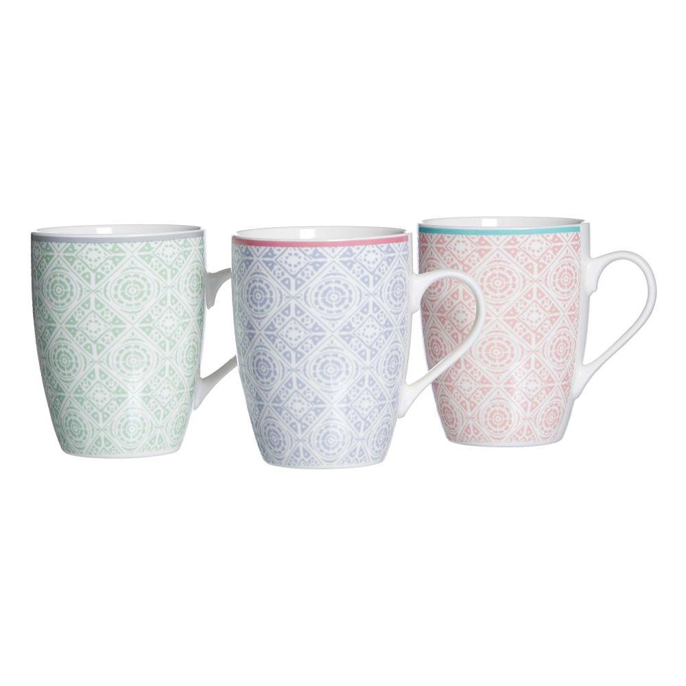 Ritzenhoff & Breker Andalus Kaffeebecher 3er Set Kaffee Becher Tee Tasse 350 ml