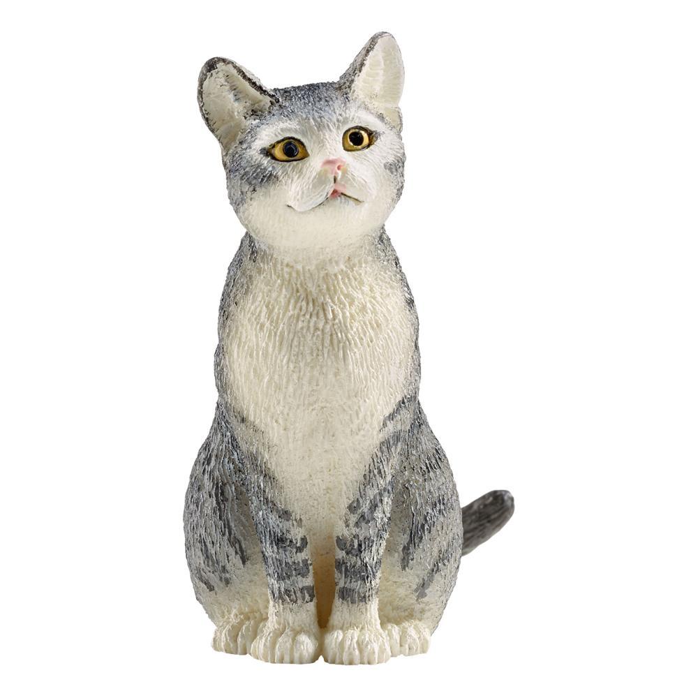 Schleich granja Life gato sentado gato granja mascota personaje dentro del juego 4.5 cm