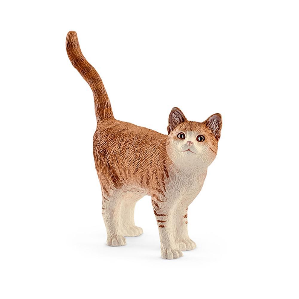 Schleich Farm Life Katze, Miezekätzchen, Bauernhoftier Bauernhof Tier Spielfigur
