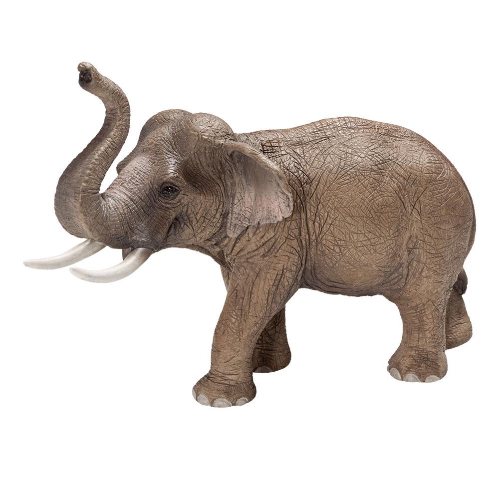 Schleich-Wild-Life-Asiatischer-Elefantenbulle-Elefant-Dickhaeuter-Spielfigur