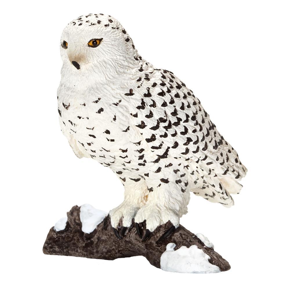 Schleich Wild Life SnowOwl Snow Owl Bird Wild Animal azione cifra 5.5 cm