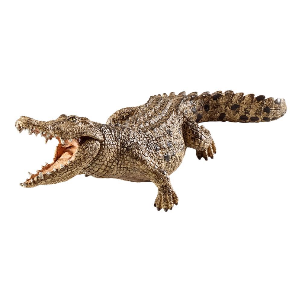 Schleich-Wild-Life-Krokodil-Reptil-Wildtier-Spielfigur-18-cm-14736