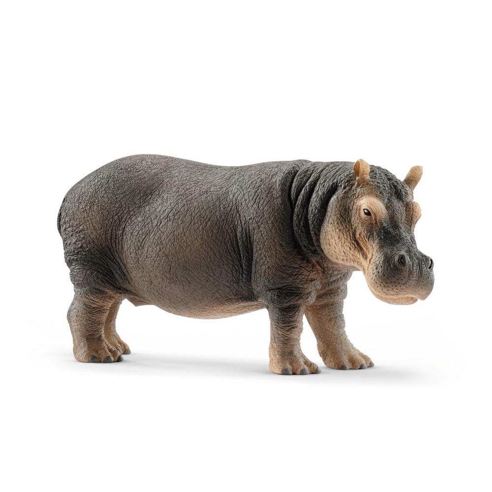 Schleich Wild Life río caballo hipopótamo mamífero wild animal personaje dentro del juego 6 cm 14814