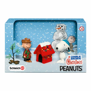 Snoopy Weihnachten Bilder.Schleich Peanuts Scenery Pack Christmas Snoopy Charlie Brown Christmas Figure 22017 At About Tea De Shop