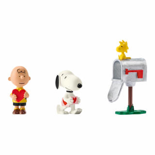 Schleich Peanuts Scenery Pack Valentines Snoopy Charlie Brown