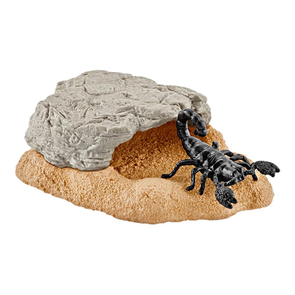 42325 Schleich Wild Life Scorpion Grotte animal sauvage scorpion grotte Jeu Accessoires