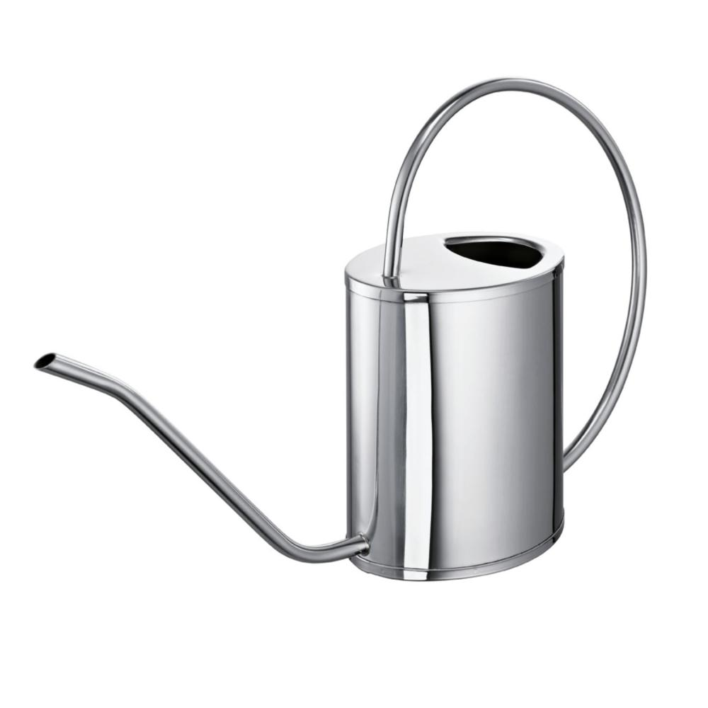 Schulte-Ufer Watering Can Barcelona, Stainless Steel 18/10 Polished 1,5 L 3035-0