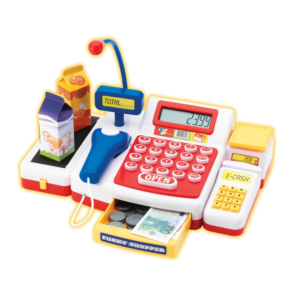 Simba Supermarktkasse mit Scanner Kasse Spielzeug-Kasse Spielzeug Kunststoff