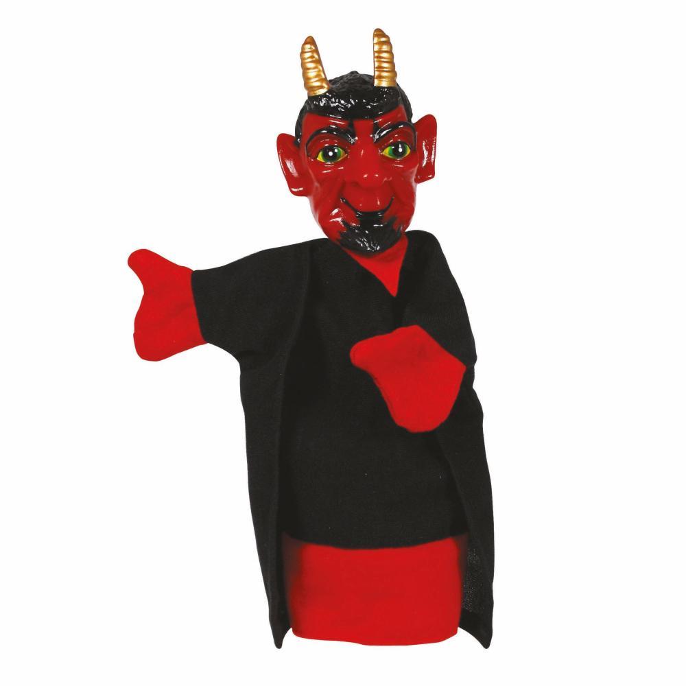 Simba-Handspielfiguren-Teufel-Handpuppe-Kasperlfigur-Satan-Spielzeug