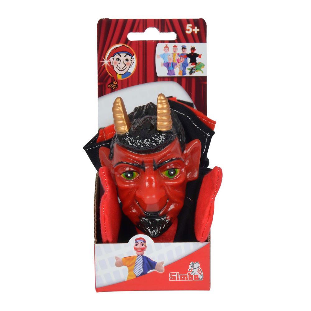 Simba-Handspielfiguren-Teufel-Handpuppe-Kasperlfigur-Satan-Spielzeug Indexbild 2