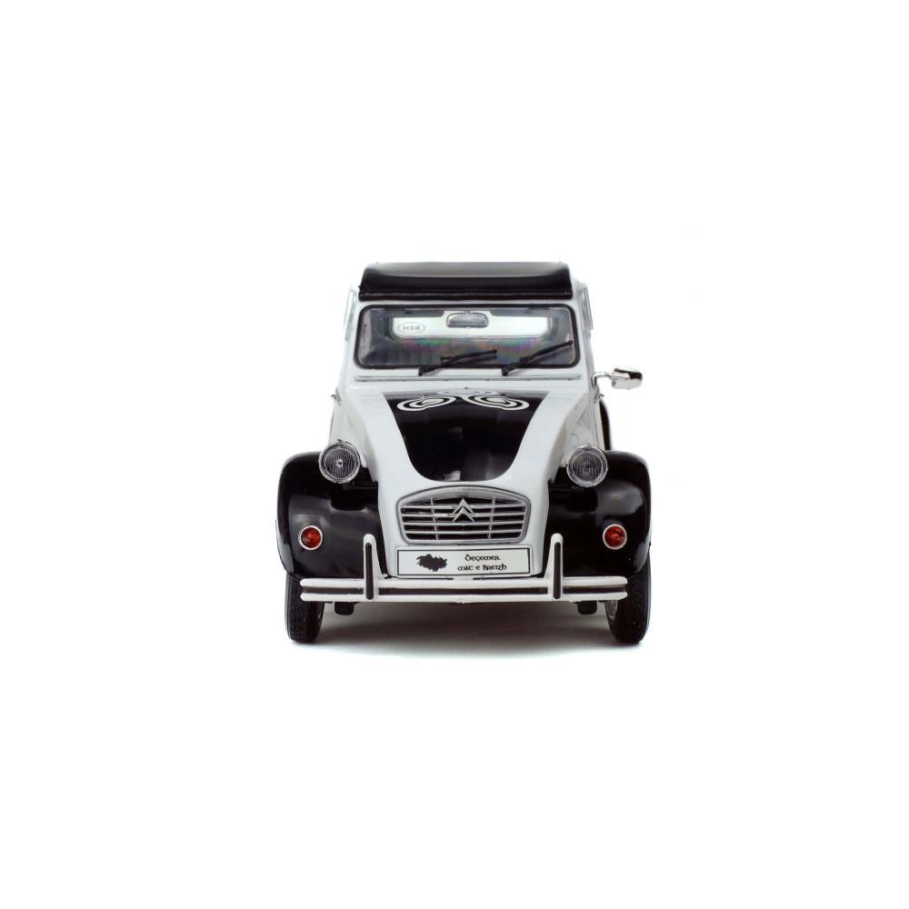 SOLIDO-CITROEN-2cv6-BZH-1978-Maquette-De-Voiture-Voiture-petite-voiture-miniature-1-18 miniature 2