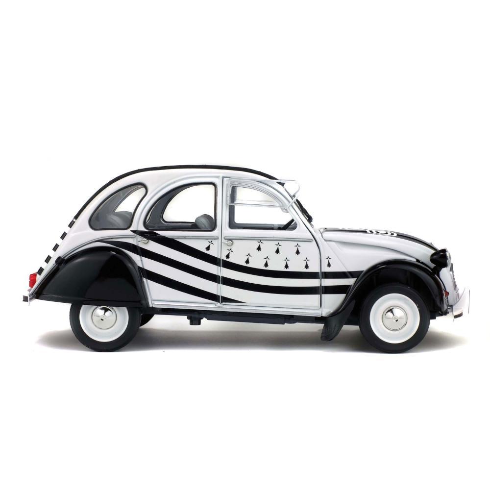 SOLIDO-CITROEN-2cv6-BZH-1978-Maquette-De-Voiture-Voiture-petite-voiture-miniature-1-18 miniature 3