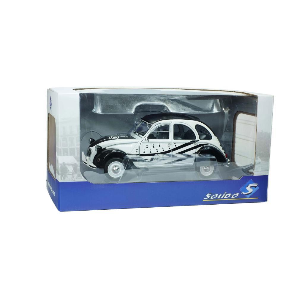 SOLIDO-CITROEN-2cv6-BZH-1978-Maquette-De-Voiture-Voiture-petite-voiture-miniature-1-18 miniature 5