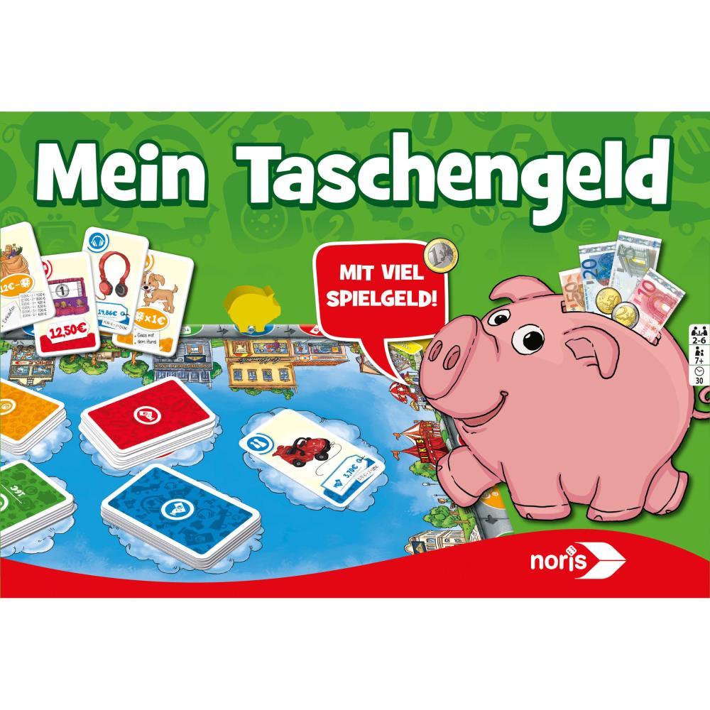 Noris Mein Taschengeld, Würfelspiel, Gesellschaftsspiel, Spielgeld, Kinder Spiel