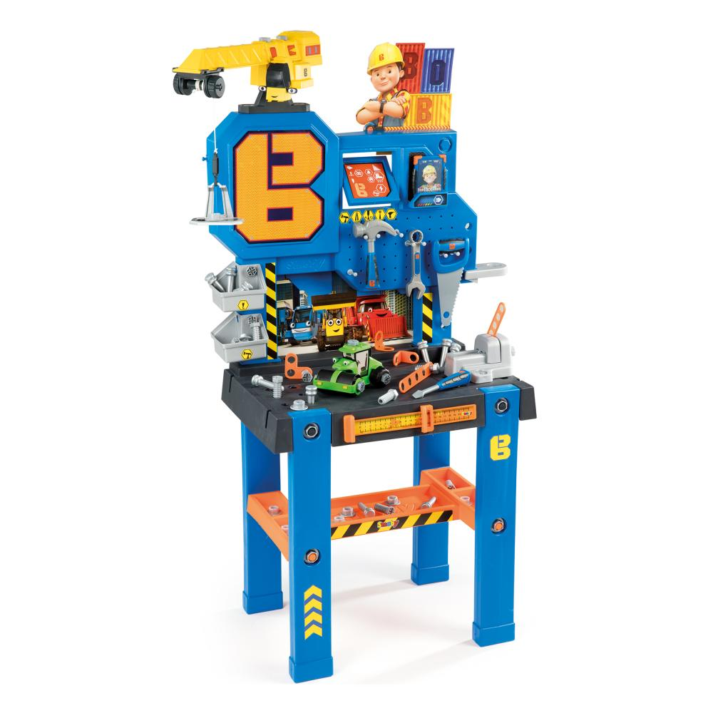 Strange Details About Smoby Bob The Builder Workbench With Crane Workshop Plastic 76 2 Cm 7600360715 Gmtry Best Dining Table And Chair Ideas Images Gmtryco