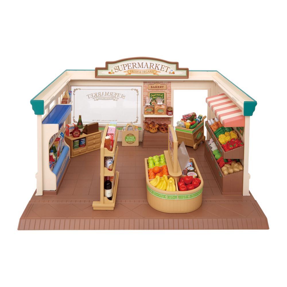 Sylvanian-Families-Supermarkt-Bei-Schleichers-Einkaufsmarkt-Lebensmittel-5049