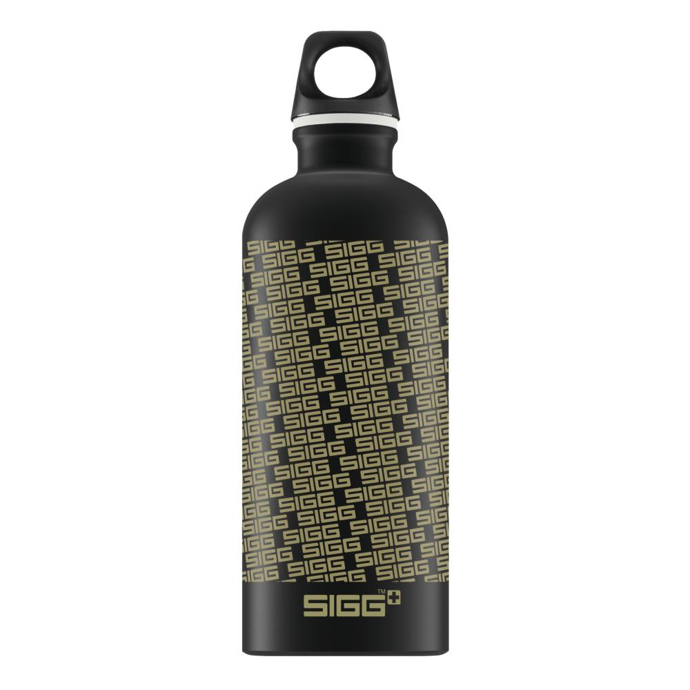 Sigg Swiss edición logotipo Repeat 0.6L Botella De Bebidas, Beber Botella Flask 8505.80