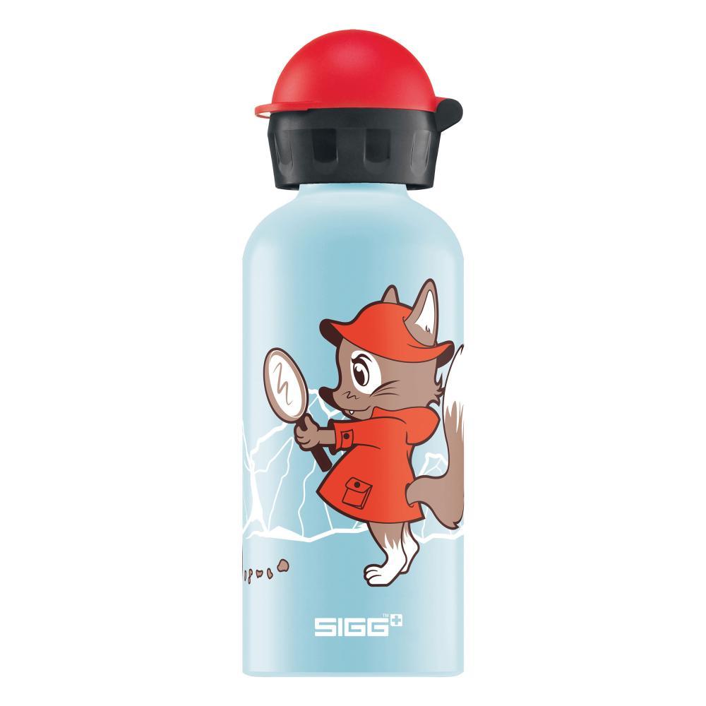 SIGG Detective Fox Borraccia per Bambini Bottiglia Sport Alluminio 400ml 8625.50