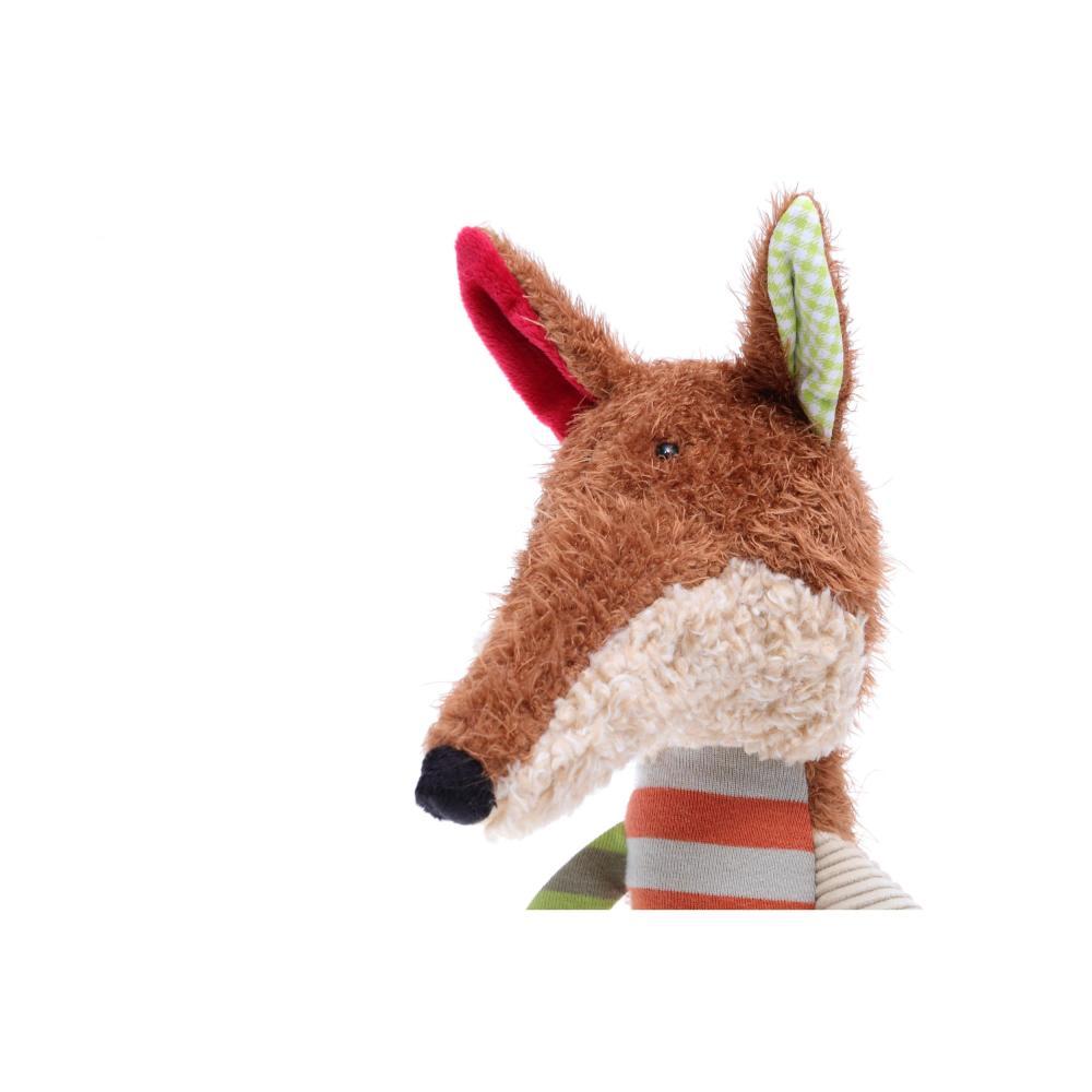 sigikid Sweety Fuchs Patchwork Kuscheltier Plüschtier Kuschel Tier Plüsch H 35cm