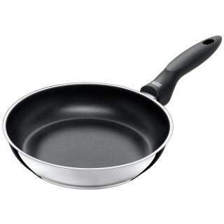 silit frying pan high 24 cm stainless steel domus suited for induction 2624611301 at about. Black Bedroom Furniture Sets. Home Design Ideas