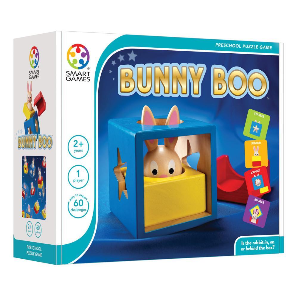 SMART Games Gioco di apprendimento Bunny Boo pensiero gioco gioco da ragazzi gioco per bambini dai 2 anni