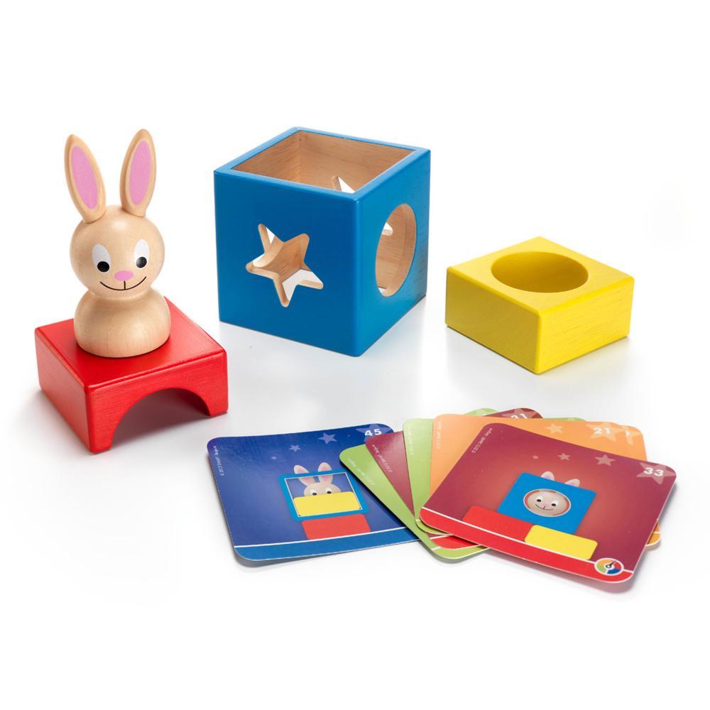miniatura 2 - SMART Games Gioco di apprendimento Bunny Boo pensiero gioco gioco da ragazzi gioco per bambini dai 2 anni