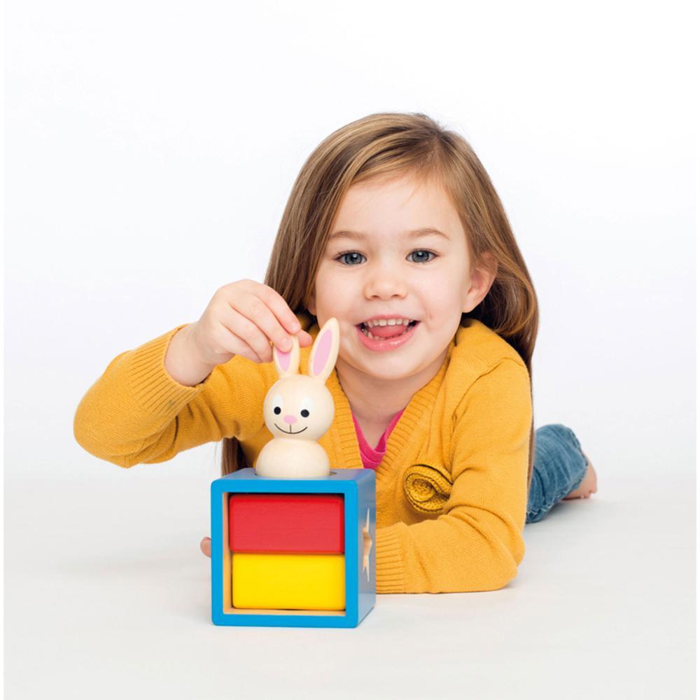miniatura 5 - SMART Games Gioco di apprendimento Bunny Boo pensiero gioco gioco da ragazzi gioco per bambini dai 2 anni