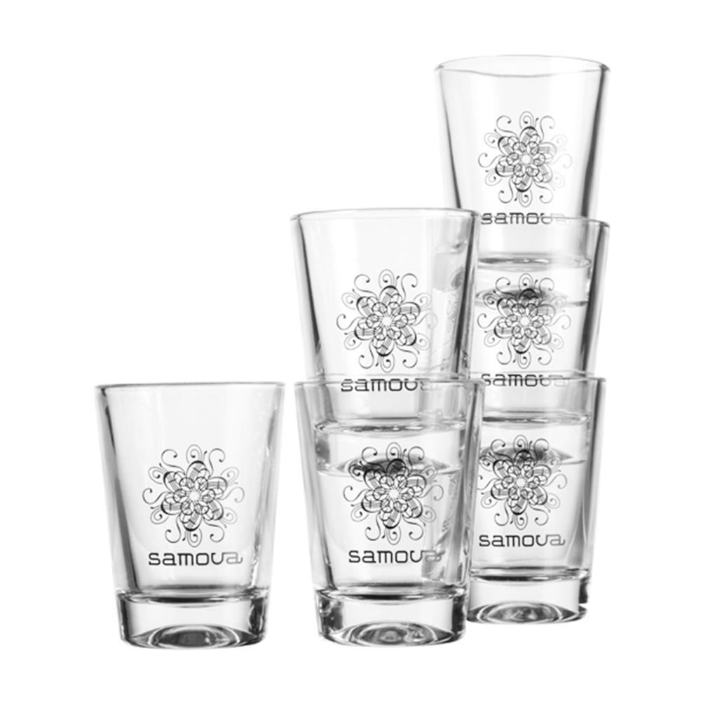 Samova symbol tea glass 6 pack 6 x 100 ml samova in gift box image is loading samova symbol tea glass 6 pack 6 x biocorpaavc Images