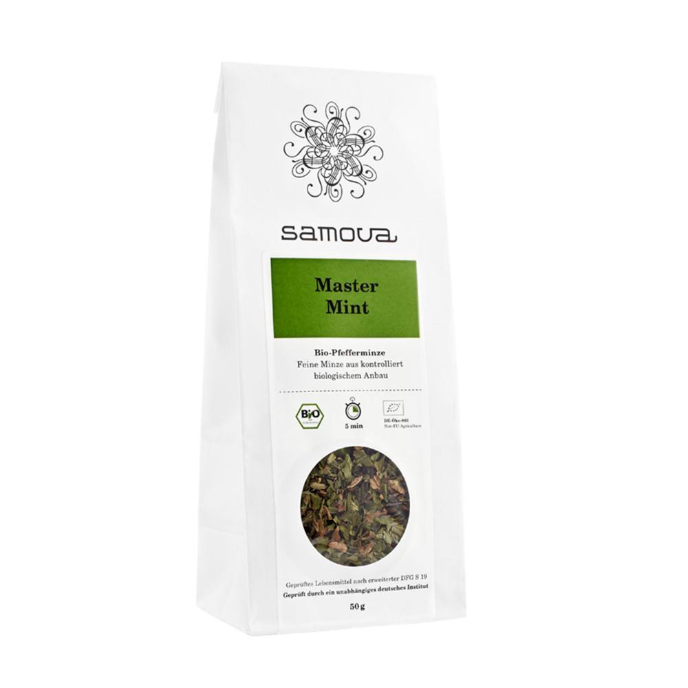 Samova Master Mint Refill Tè alla Menta Biologico Egiziano Confezione 50g