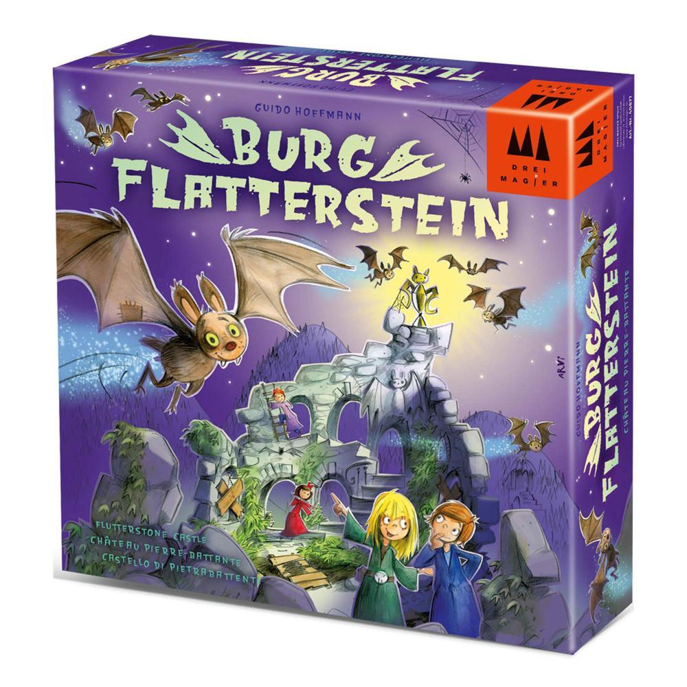 Schmidt Spiele Burg Flatterstein Drei Magier Kinderspiel 2 bis 4 Spieler