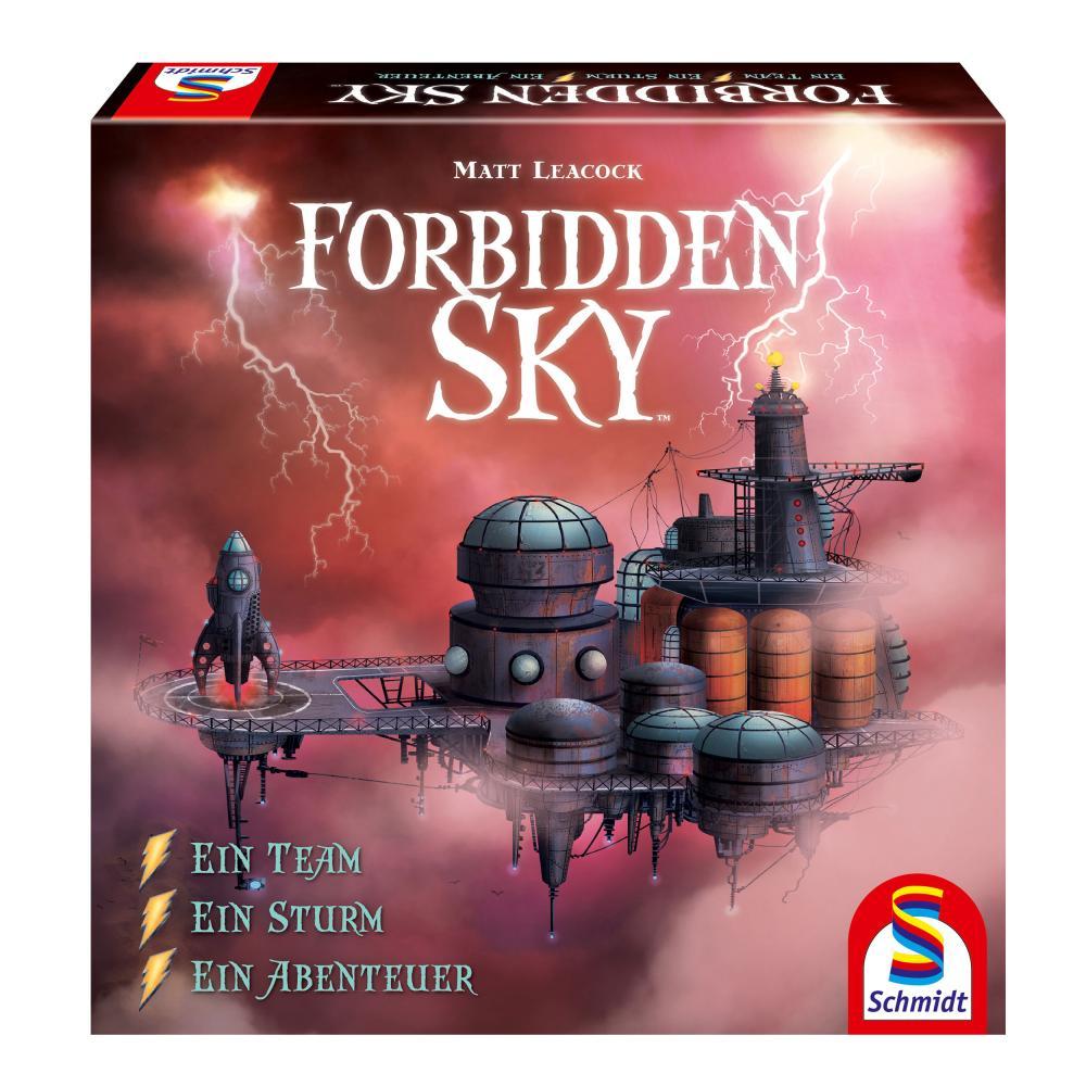 Schmidt Spiele Forbidden Sky Familienspiel Gesellschaftss<wbr/>piel 2 bis 5 Spieler