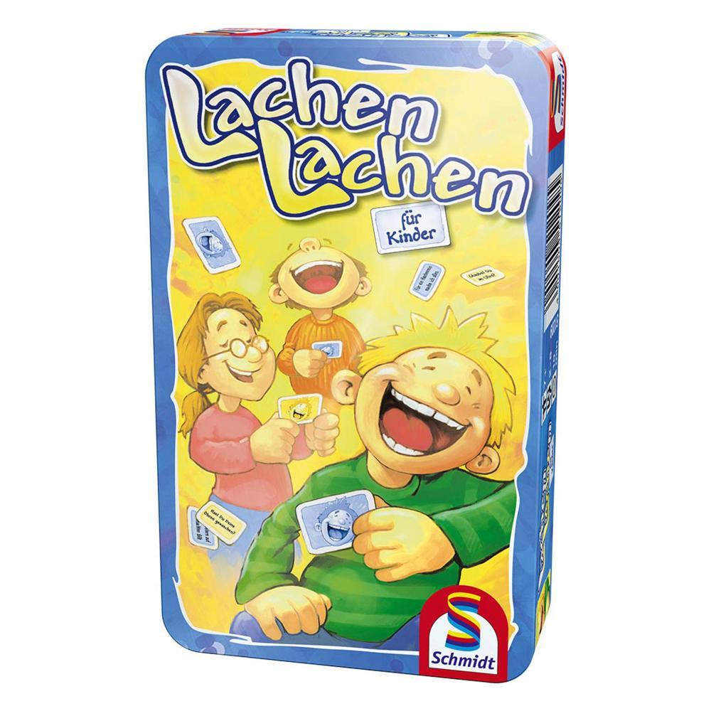 Bring-Mich-Mit-Spiel in Metalldose Schmidt Spiele Lachen für Kinder Brettspiel