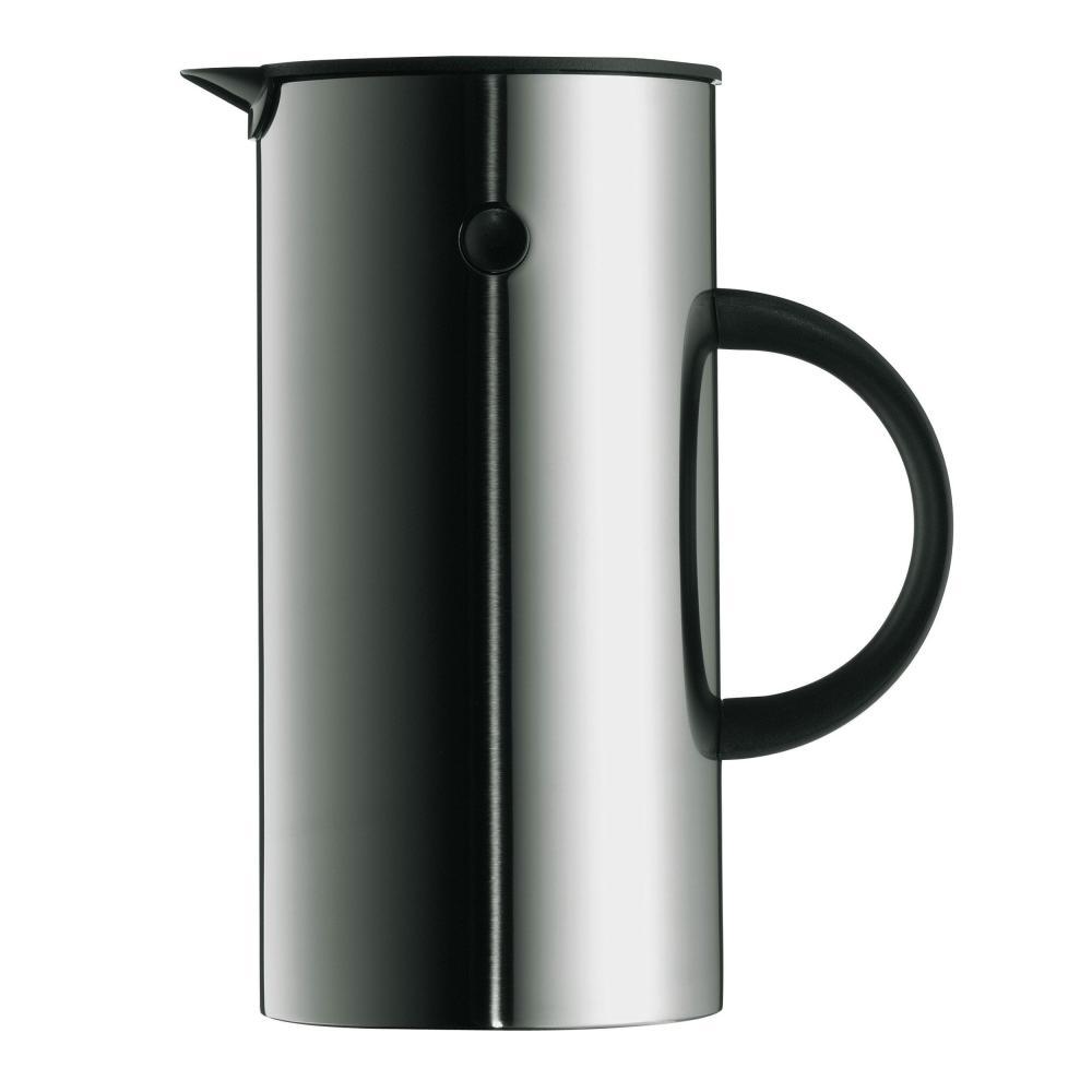 Stelton EM77 Cafetière Isotherme 0,5 l - Acier, Ø 10,5cm H