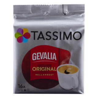 Tassimo Gevalia Original Mellanrost, Coffee, Arabica, Espresso, Capsules,  16 T-Discs at About-Tea de Shop