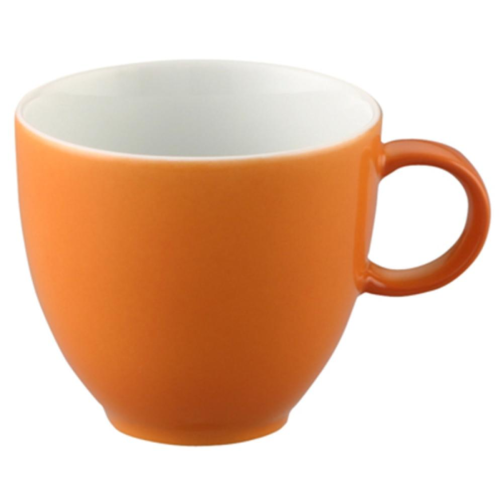 Thomas-Sunny-Day-Tasse-a-Espresso-avec-Soucoupe-Porcelaine-Orange-8-cl-2-pces