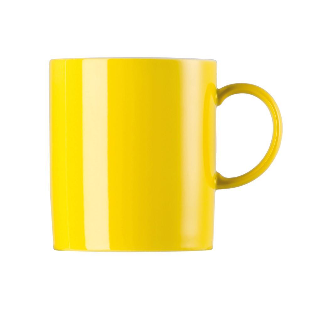 Thomas-Sunny-Day-Tasse-a-Cafe-avec-Anse-Porcelaine-Neon-Yellow-Jaune-30-cl-15505