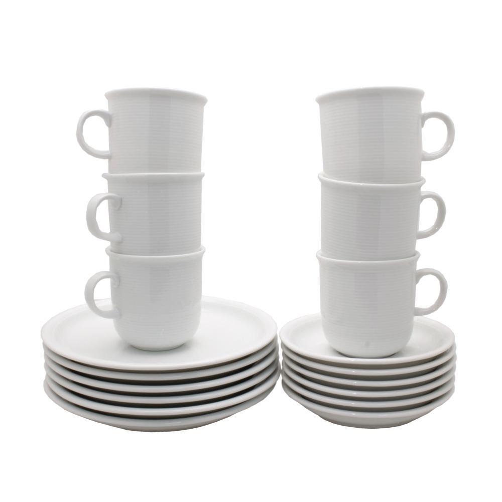 Service-de-Table-12-Pieces-Thomas-Trend-Porcelaine-Blanc-Comp-Lave-Vaisselle