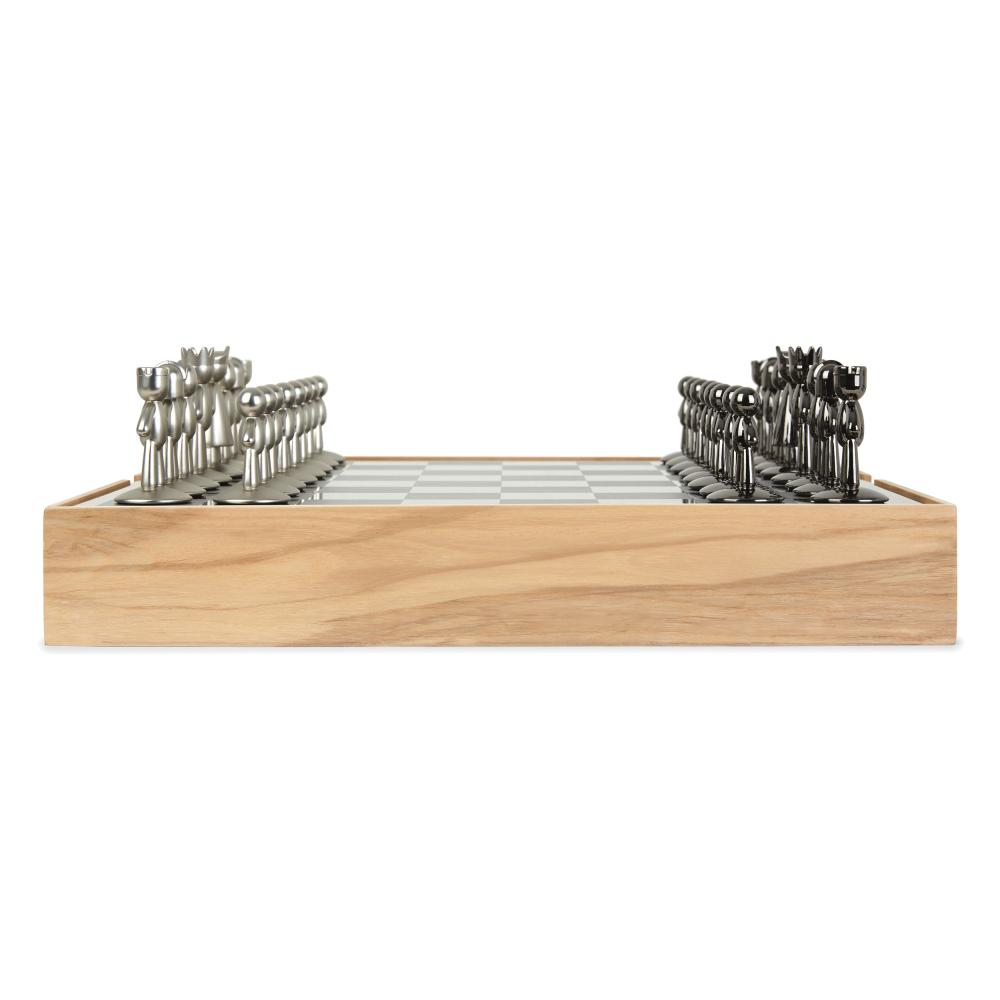 Umbra-BUDDY-scacchiera-gioco-degli-scacchi-giocattolo-gioco-degli-scacchi-in-legno-naturale-36-cm miniatura 3